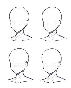 Human Drawing Base Sketch - Head Design Base Sketch And Lineart By Kitsunetsukiko Deviantart Anatomy Ref Not Mine Art Reference Poses Drawing Reference Sketch Base At Paintingval. Drawing Heads, Drawing Base, Cartoon Eyes Drawing, Cartoon Head, Human Drawing, Body Drawing, Manga Drawing, Art Drawings Sketches Simple, Art Reference Poses