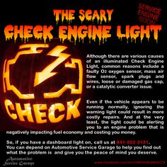 Do you have a scary dashboard warning light on? Give us a call at Sarasota FL Auto Repair. You can depend on Automotive Service Garage Car Care Tips, Car Fix, Damaged Cars, Car Hacks, Diy Car, Spark Plug, Car Shop, Car Cleaning, Peace Of Mind