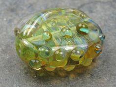 Into the Fire Lampwork Art Beads ~Rocío~ Artist handmade glass focal bead SRA