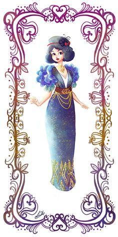 Deco Disney: Snow White by Lorraine Yee