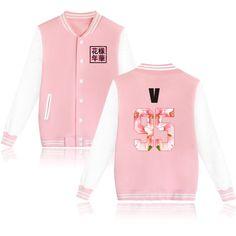 Autumn Winter Kpop BTS Hoodies Women Bangtan Boys Fleece Sweatshirt Mood For Love Album Pink Jacket Single Breasted Coat Women Bts Hoodie, Hoodie Sweatshirts, Coats For Women, Jackets For Women, Men's Jackets, Winter Jackets, Bts Clothing, Size Clothing, Apparel Clothing