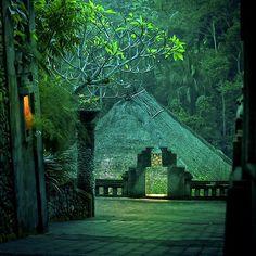 Ubud, Bali. Green rainforest villa.