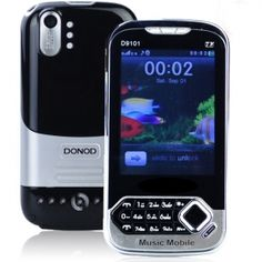 """Brand New D9101 Dual Band Dual SIM 3.5"""" TV Cell Phone( Black)from www.chinagadgetland.com at wholesale from China directly.  Model: D901  Color: Black  Network: GSM900/1800MHz  LCD Display: 3.5"""" touch screen,Resistance Touch  Dimension: 11.1 * 5.5 * 1.0cm (L . W . H)  Camera: 640*480 high definition dual cameras, support flash light  Touch Panel: Yes  Message: SMS / MMS / Chat / Voicemail server  SIM: Dual SIM dual standby  Only $30.28"""