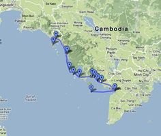 With the 2007 opening of the Prek Chak / Xa Xia border crossing between Cambodia and Vietnam it's now possible to travel from Ko Chang in Thailand all the way along the Cambodian coastline and into Vietnam. From Ko Chang you're able to visit Ko S'dach, Sihanoukville, Ko Russei, Kampot, Kep, Ko Tonsay, Ha Tien and Rach Gia, before finishing off on the glorious Phu Quoc Island. Here's a step by step guide taking you through the entire trip, commencing in Trat and finishing on Phu Quoc.