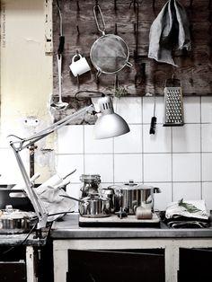 Raw kitchen.