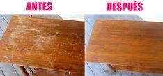 Como eliminar las manchas de arañazos de los muebles