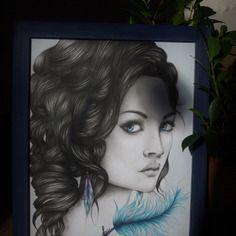 DECO : Portrait Blue dream