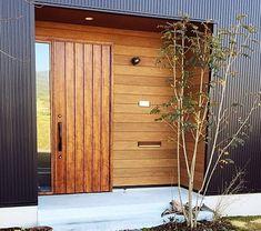 68 Ideas For Design Home Exterior Entrance Entrance Foyer, House Entrance, Entrance Ideas, House Doors, House Wall, Design Your Home, House Design, Main Door Design, Portal