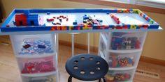 Lego Table: 14 DIY Ideas For Your Kids' Playroom