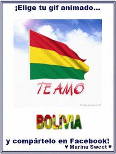 TE AMO ♥ Bolivia Facebook Gif Animado