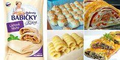 Pokud máte doma listové těsto, toto vyzkoušejte: 21 rychlých a bezkonkurenčních párty receptů.   NejRecept.cz Tacos, Food And Drink, Mexican, Ethnic Recipes, Hampers, Baking, Mexicans