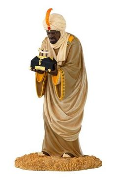 The Wiseman with Gold by Thomas Blackshear. A member of his Ebony Visions Collection! Love this piece and Blackshear's other African-American Christmas collectibles.