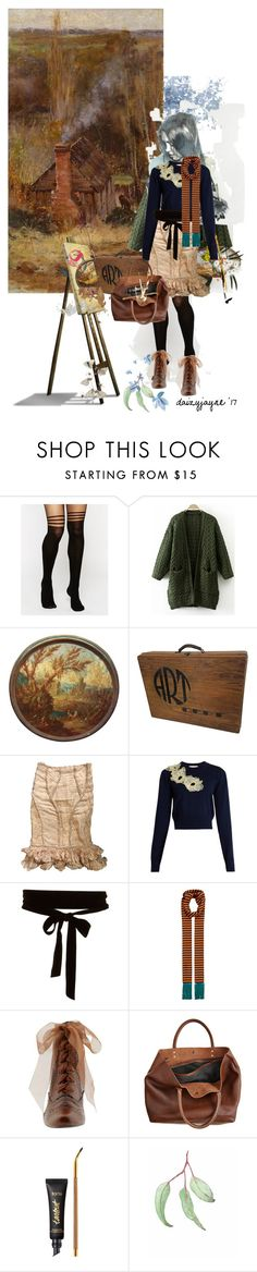 """""""trip to mt macedon with fred mccubbin"""" by daizyjayne ❤ liked on Polyvore featuring ASOS, DEPT, Alexander McQueen, Roksanda, Haider Ackermann, Hush Puppies, Monserat De Lucca, tarte, NOVICA and contestentry"""