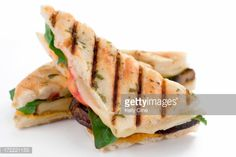Grilled Vegetable Sandwich for Meatless Monday - Eco Home Ideas Grilled Vegetable Sandwich, Grilled Vegetables, Veggies, Grill Panini, Panini Sandwiches, Sandwich Toaster, Sandwich Ingredients, Meatless Monday, Catering