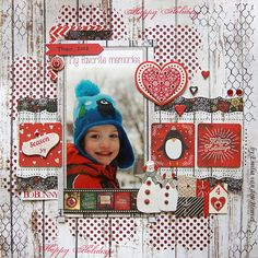 Merry & Bright Layout by Emilia van den Heuvel for BoBunny Press