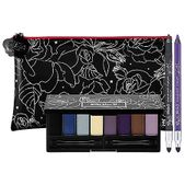 A shadow palette with eight gorgeous shades and two smudge-proof eyeliners in a makeup bag designed by Kat.   Get the look you're after with this set of Kat's eye-adoring essentials. The palette includes eight richly pigmented shadows formulated for long wear and harmonious blending, and two double-ended brushes for easy, on-the-go application. The all-in-one waterproof eyeliner includes a smudge-tip for creating a sassy, smoky stare and the sharpener cap gives you the freedom to sharpen whe