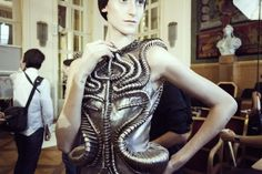 Synesthesia Garden - a weird art + style blog | » Blog Archive » Immortal Coil: Fashion Designer Iris van Herpen - whole post is amazing
