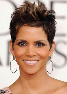 Halle Berry. 'NUFF SAID! Top 100 Hairstyles 2014 for Black Women | herinterest.com