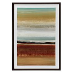 Horizon Lines 2 framed print, $179.95
