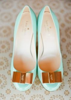 Mint kate spade shoes
