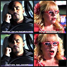 "✯SHEMAR MOORE with his ""Baby Girl"" Penelope Garcia, aka Kirsten Vangsness✯ Created by Kimberlydyan"