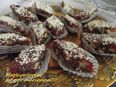 Greek Desserts, Greek Recipes, Frozen Yoghurt, French Toast, Recipies, Deserts, Dessert Recipes, Food And Drink, Sweets