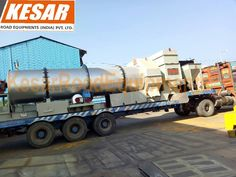 Today we dispatched #Dm-50 Drum Mix type Hot mix plant At #UttarPradesh (u.p).... Mr.Dipak Chaudhary:9825322472 www.kesarequipments.com #KesarRoadEquipments #AsphaltHotMixPlant #AsphaltEquipments #PaverFinisher #asphaltbatchmixplant #MechanicalBroom #MechanicalBroomer #TractorMountedSweeper #TractorMountedBrooms #WMMPlant #WetMixPlant #WetMixMacadamPlant #ConstructionMachinery #ConstructionEquipment #AsphaltSprayer #TarSprayer #BitumenSprayer #RoadConstructionEquipment