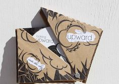 CD package design by Hannah Leonard, via Behance