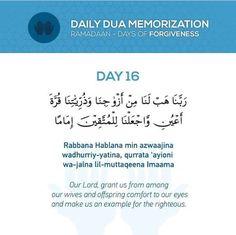 Grant me wives n offsprings that will comforts to my eyes Prayer Verses, Quran Verses, Quran Quotes, Allah Quotes, Dua For Ramadan, Ramadan Prayer, Ramadan Mubarak, Islamic Phrases, Islamic Messages