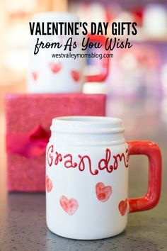 Valentine's Gift Ideas from As You Wish Pottery