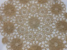 Antique Tatting Lace Doily Breathtaking by perfectmomentpillows