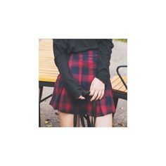 Plaid Mini Skirt (€18) ❤ liked on Polyvore featuring skirts, mini skirts, women, short mini skirts, tartan plaid skirt, short tartan skirt, mini skirt and short skirts