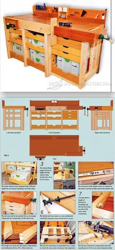 A Tailor-Made Workbench Plans - Workshop Solutions Plans, Tips and Tricks | WoodArchivist.com