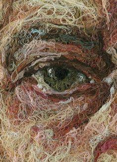"""showslow: """" Thread Art by Comme Des Garçons """""""