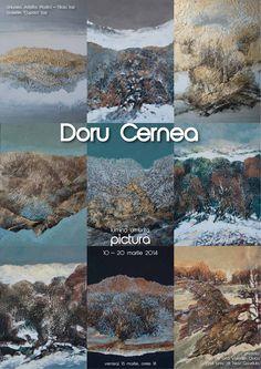 """Expoziția de pictură """"Lumina Umbrita"""" a lui Doru Cernea"""