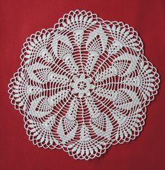 Doily Patterns, Crochet Doilies, Art Drawings, Pasta, Simple, Crochet Storage, Pine Apple, Towels, Recipes