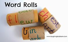 Simple tool for teaching children about words and phonic blends and sounds