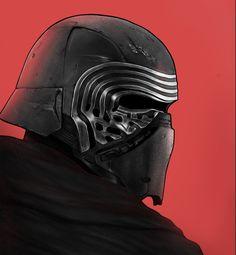 Star Wars: The Force Awakens Portraits - Created by Berkay Daglar