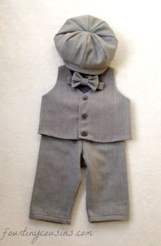 Ring bearer outfit natural baby clothes baby by fourtinycousins, $101.00