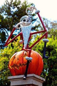 Disneyland Haunted Mansion with Jack Skellington // Nightmare Before Christmas