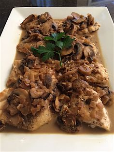 Tender Chicken Marsala
