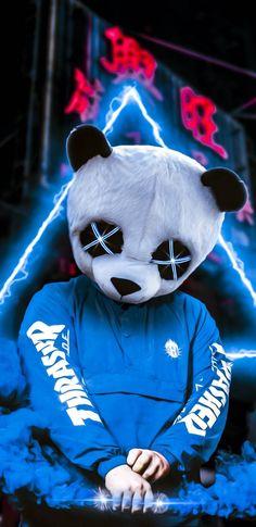 Neon Panda IPhone Wallpaper - IPhone Wallpapers