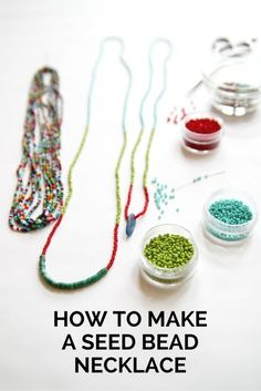 Back in high school, I used to string seed beads on fishing wire I found in my dad's toolbox. I stored the beads in one of my mom's embroidery thread containers, and I'd sit on my bed, listen to Lenny...
