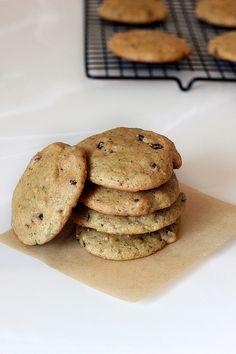 Grain-Free Zucchini Chocolate Chip Cookies - Gluten-free + Dairy-free