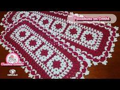 Crochet Doily Patterns, Crochet Doilies, Knit Crochet, Crochet Crocodile Stitch, Crochet Tablecloth, Crochet Videos, Yarn Projects, Crochet For Beginners, Knitting