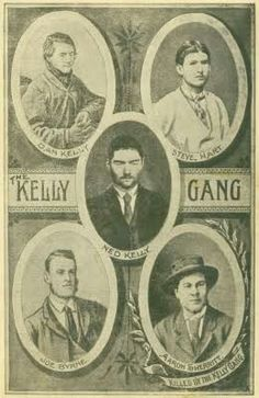 Wiki page on Australian Bushrangers the Kelly Gang. Famous Outlaws, Ned Kelly, Australian Bush, Australia Day, Historical Pictures, Black And White Pictures, History Books, Cabaret, Back In The Day