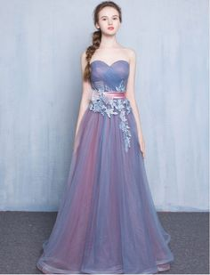 Vintage Inspired Strapless Sweetheart Lace Prom Dress