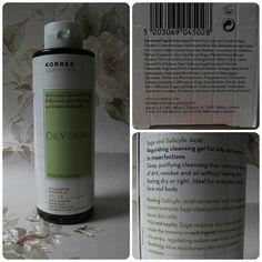 Korres Sage & Salicylic Acid Cleansing Gel Review by justjesssblog, via Flickr #skincare #oilyskin #korres #cleanser #bbloggers
