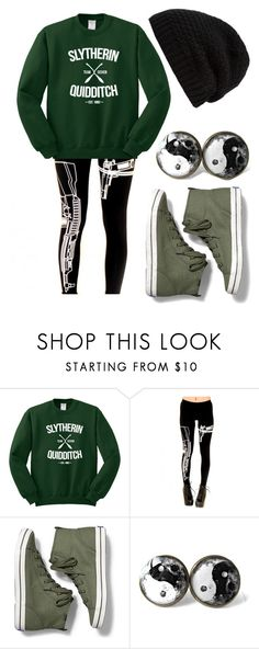 """""""TEAM SLYTHERIN!!!"""" by tylerjoseph-890 ❤ liked on Polyvore featuring Keds and Rick Owens"""