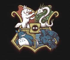 Magic, plain and simple. There are things lurking just beyond the trees and hiding in the clouds that are wonderful and just waiting for you to discover them. @teefury Ghibliwarts by CHOCOPANTS